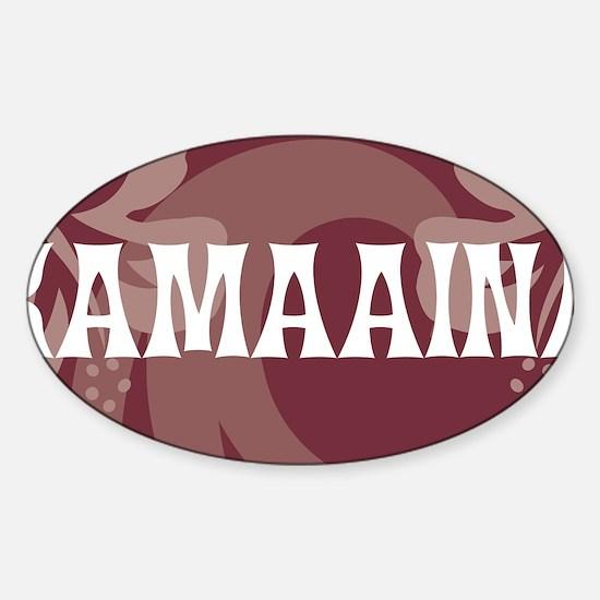 KamaainaLP Sticker (Oval)