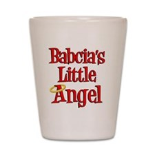 Babcias Little Angel Shot Glass