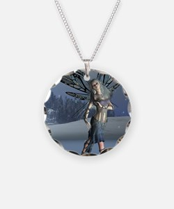 Winter Frost Fairy Necklace