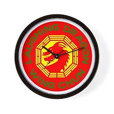 Laughing Dragon RYGF Wall Clock