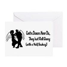Contra Dancers Never Die Greeting Cards (Pk of 10)