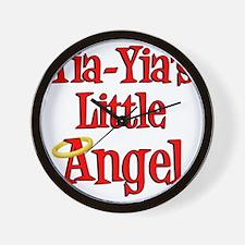 Yia Yias Little Angel Wall Clock