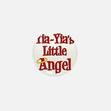 Yia Yias Little Angel Mini Button