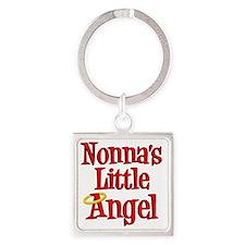 Nonnas Little Angel Square Keychain