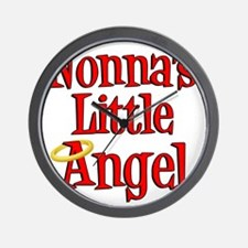 Nonnas Little Angel Wall Clock