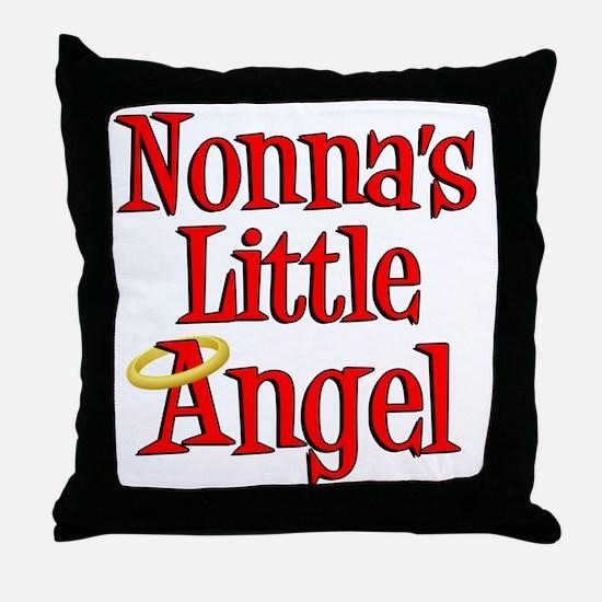 Nonnas Little Angel Throw Pillow