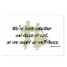 Folk Dance Fools Postcards (Package of 8)