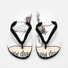 help me- for white Flip Flops