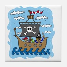 pirate1 Tile Coaster