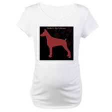 black and red snowflakes dobe Shirt