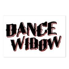 Dance Widow Postcards (Package of 8)