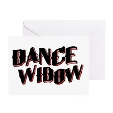 Dance Widow Greeting Cards (Pk of 10)