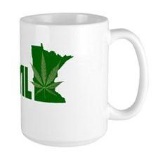 MN NORML Logo white on transparent Mug