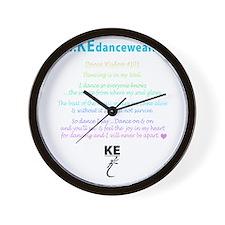 DanceKE-teeBACK.gif Wall Clock