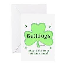 Bulldog Heaven Greeting Cards (Pk of 10)