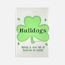 Bulldog Heaven Rectangle Magnet