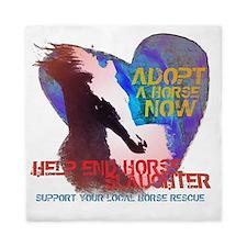 Adopt A Horse Queen Duvet