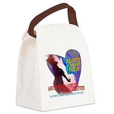 Adopt A Horse Canvas Lunch Bag