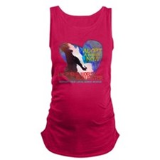 Adopt A Horse Maternity Tank Top
