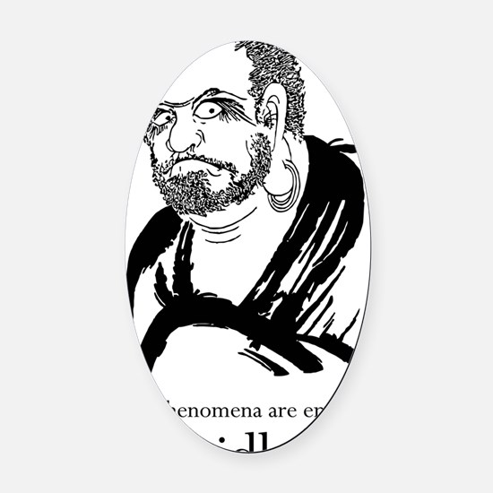 Bodhidharma1 Oval Car Magnet
