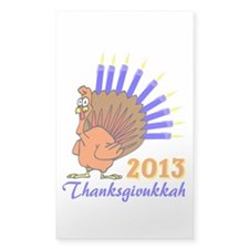 Thanksgivukkah 2013 Menurkey Decal