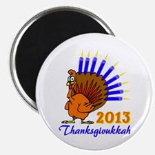 Thanksgivukkah 2013 Menurkey Magnets