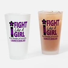 Fibromyalgia Drinking Glass