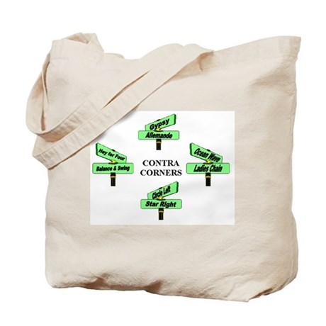 Contra Corners Tote Bag