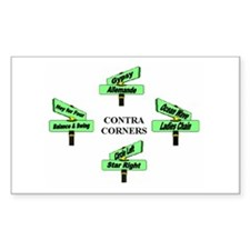 Contra Corners Stickers
