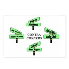 Contra Corners Postcards (Package of 8)