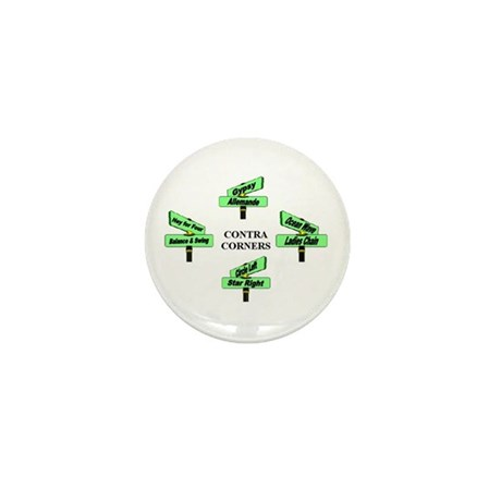 Contra Corners Mini Button (10 pack)