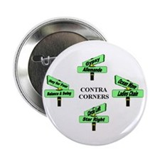 "Contra Corners 2.25"" Button (100 pack)"