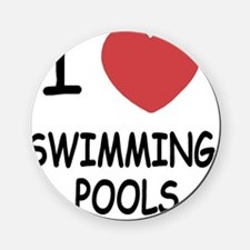 SWIMMING_POOLS Cork Coaster