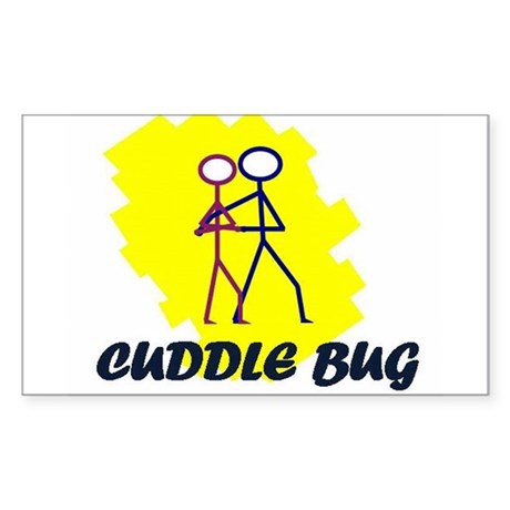 Cuddle Bug Sticker (Rectangle)