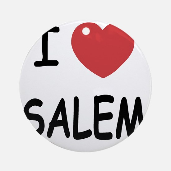 SALEM Round Ornament