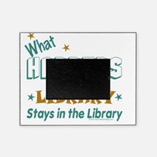 What_Happens_in_the_Library_Green_an Picture Frame