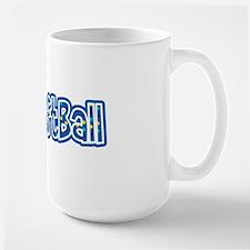i love Softball Large Mug