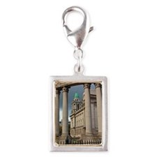Belfast City Hall Silver Portrait Charm