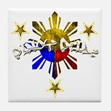 pinoy pride Tile Coaster