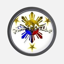 pinoy pride Wall Clock