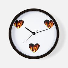 I Love A Firefighte... Wall Clock