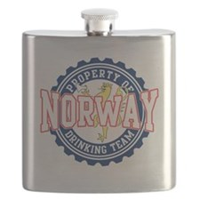 Property of Norway Drinking Team 2 Flask