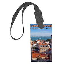 Lisbon Boat Luggage Tag