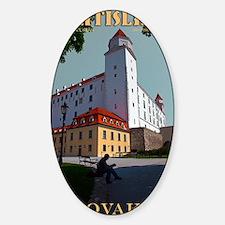 Bratislava Castle Decal