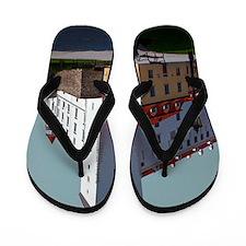 Bratislava Castle Flip Flops