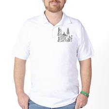 SanDiego_10x10_CaliforniaTower_SD_Vert_ T-Shirt