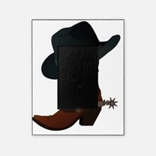 Cowboy boot and hat Picture Frame