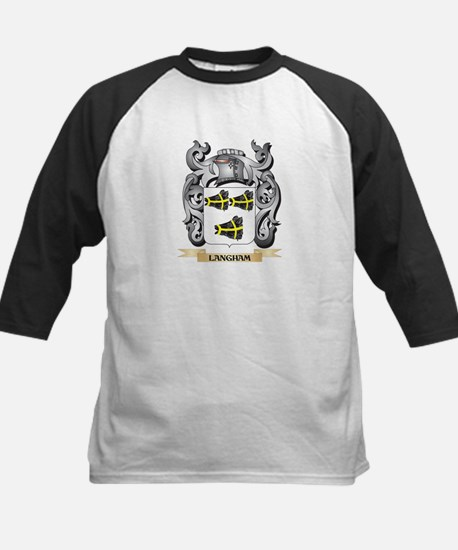 Langham Coat of Arms - Family Cres Baseball Jersey