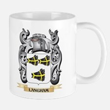 Langham Coat of Arms - Family Crest Mugs