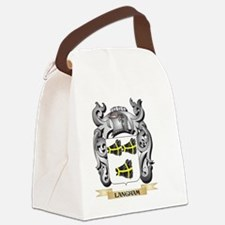 Langham Coat of Arms - Family Cre Canvas Lunch Bag